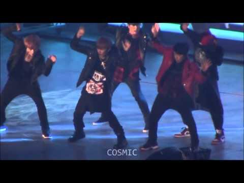 fancam] 131027 HD  SMTOWN Tokyo   Dance Battle Spectrum   SM the Seven (Eunhyuk focus)   YouTube