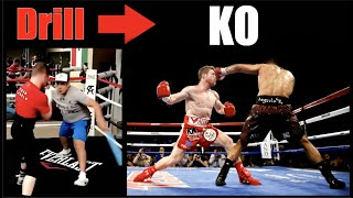 Canelo Alvarez | Crazy Drills That Became KO's - Breakdown