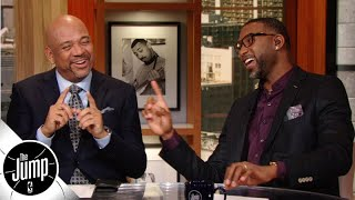 Tracy McGrady surprises the room with his NBA MVP and James Harden predictions | The Jump