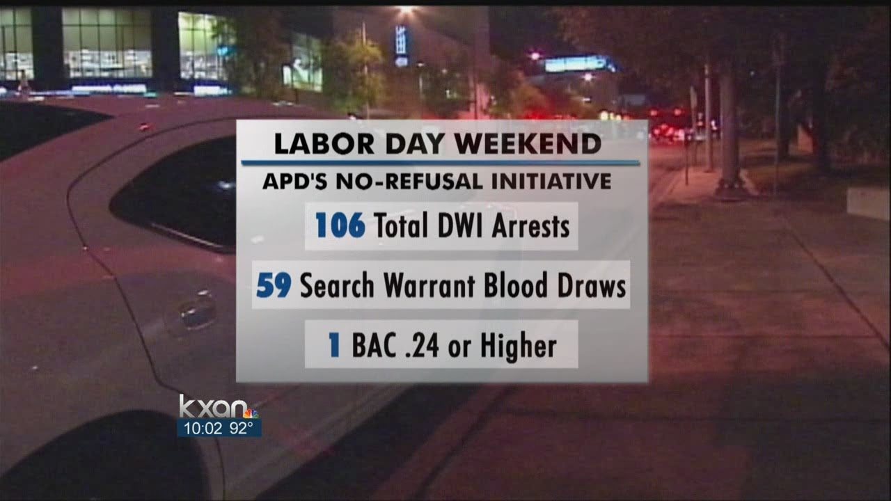No-refusal Weekend Nets 106 Arrests - Smashpipe Entertainment