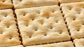 How to Make Soda Crackers - Crackers Recipe
