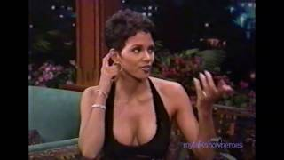 HALLE BERRY has FUN with LENO