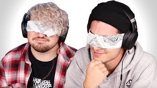 2 BOYS GUESS ASMR SOUNDS BLINDFOLDED