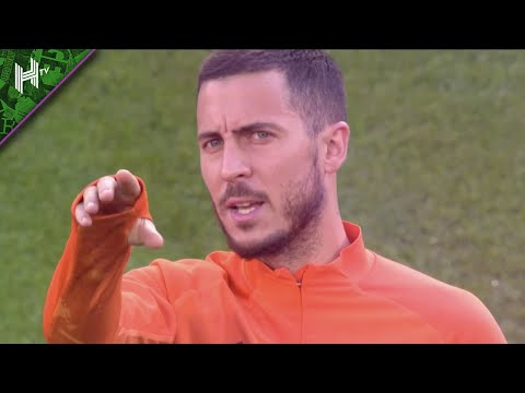 Eden Hazard back at Stamford Bridge | Chelsea v Real Madrid | Training