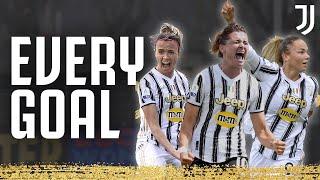 Every Juventus Women's Goal 2020/2021! | #F4BULOUS | Juventus Women