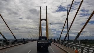 Cầu lớn nhất Campuchia, được xây dựng bắt qua sông Mekong