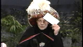 Johnny Carson -- one of the final Carnac segments