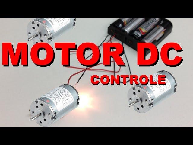 CONTROLE SIMPLES DE MOTOR DC | Conheça Eletrônica! #002