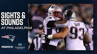 Patriots Mic'd Up vs. Eagles: 'We came here with one mission' | Sights & Sounds
