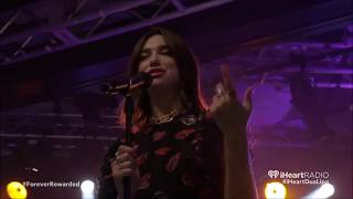 "Dua Lipa Performs ""IDGAF"" at iHeart Radio Festival 2017"