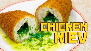Chicken kotlet of Kiev - Cooking with Boris