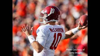 AJ McCarron Talks Mac Jones, Iron Bowl and Nick Saban