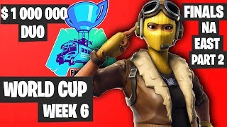 Fortnite World Cup Week 6 Highlights Final NA East Duo Part 2