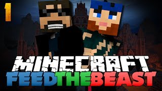 Minecraft Modded Survival - FTB 1 - MORPH INTO EVERYTHING