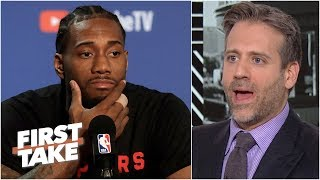 Kawhi will 'destroy the league' if he joins the Lakers - Max Kellerman | First Take