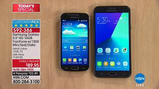 HSN | Electronic Connection featuring Samsung Tracfone 04.01.2018 - 01 PM