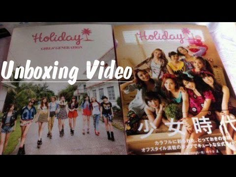 Unboxing - SNSD Holiday Photobook