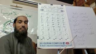 Al Quran Basic Training/Course for Tajweed (Naazra) by Qari UbaidUllah plate 10