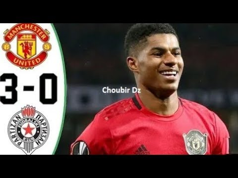 Manchester United Vs Partizan 3-0 UEFA Europa League 07/11/2019
