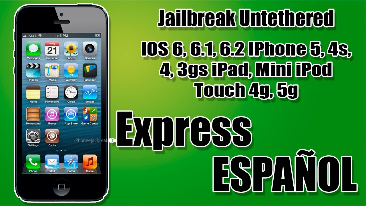 jailbreak iphone 4s jailbreak untethered ios 6 6 1 6 2 iphone 5 4s 4 3gs 12541