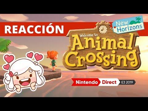 EXTRACTO | MI REACCIÓN AL NUEVO ANIMAL CROSSING NEW HORIZONS | NINTENDO E3