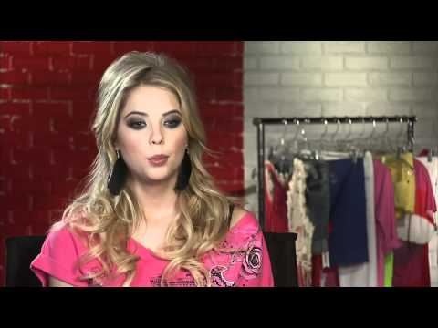Ashley Benson Interview Bongo Campaign - YouTube