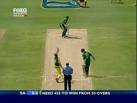 World Record 438 Match-South Africa vs Australia- part 2