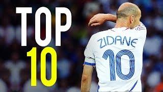 Zinedine Zidane - Top 10 Goals Ever