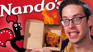 Keith Eats Everything At Nando's PERi-PERi Chicken