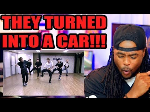 BTS | BOY IN LUV | DANCE PRACTICE | They Turned Into a CAR! | REACTION!!!