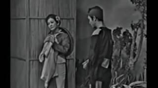 NSƯT Thanh Sang và NSƯT Thanh Nga trong Bên cầu dệt lụa