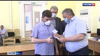 В облизбиркоме вручили первые удостоверения кандидатам в депутаты регионального парламента