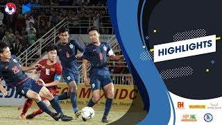 Highlights   U18 Thailand 0-0 U18 Vietnam   AFF U18 Next Media Cup 2019   VFF Channel