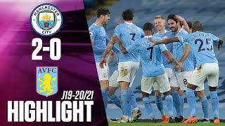 Highlights & Goals | Manchester City vs. Aston Villa 2-0 | Telemundo Deportes