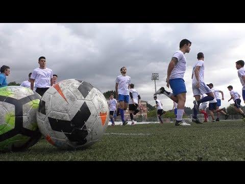3. mailari eusteko lanean hasi da Ordiziako futbol taldea