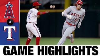 Angels vs. Rangers Game Highlights (9/30/21) | MLB Highlights