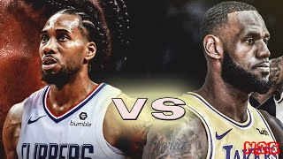Los Angeles Lakers vs Los Angeles Clippers - FULL GAME | NBA 2K20