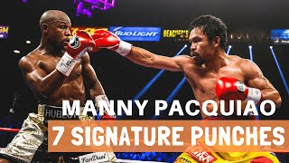 Top 7 Manny Pacquiao Signature Punches #MannyPacquiao #MannyPacquiaoHighlights #Pacquiao