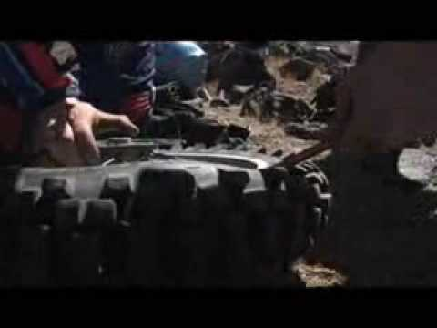 Dirt bike tire change 101