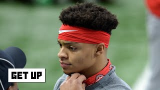 Is Justin Fields' NFL draft stock falling heading into the College Football Playoff? | Get Up