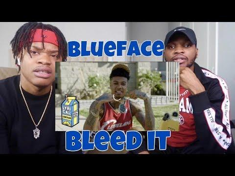 Blueface - Bleed It (Dir. by @_ColeBennett_) - REACTION