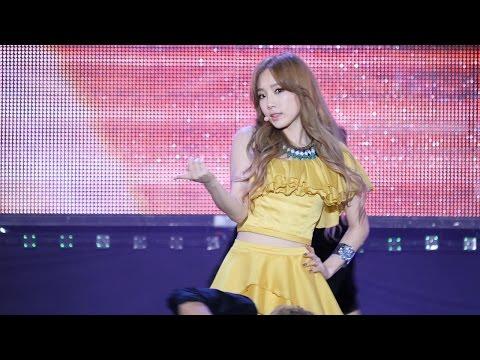 140921 k-pop expo 아이돌페스티벌 태티서 - Holler 태연 직캠