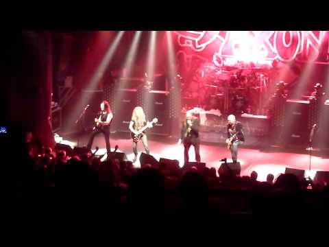 Saxon   When Doomsday Comes Hybrid Theory & Denim And Leather Paris 2011
