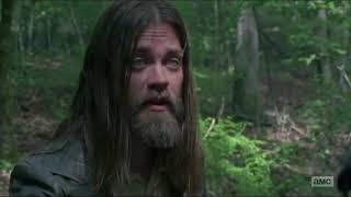 The Walking Dead - 8x03 Morgan vs Jesus