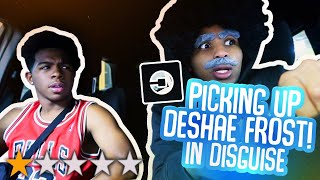PICKED UP DESHAE FROST IN AN UBER UNDER DISGUISE!!! *went terrible*