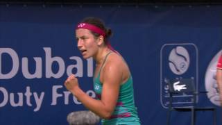 Highlights: WTA QF - Sevastova d. Wang