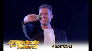 Rob Lake: Illusionist Does REAL MAGIC! NO WAY! | America's Got Talent 2018