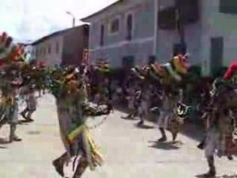 Coreografía de la Cofradía de los Negritos. 2008. Llata, Huamalíes, Huánuco.