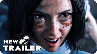 Alita: Battle Angel Trailer 2 (2018) James Cameron Live Action Movie