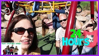 24 Hours On Playground / That YouTub3 Family